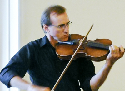 person playing viola