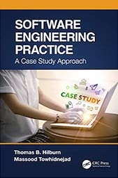 """Book cover """"Engineering Practice: A Case Study Approach"""" by Tom Hilburn"""